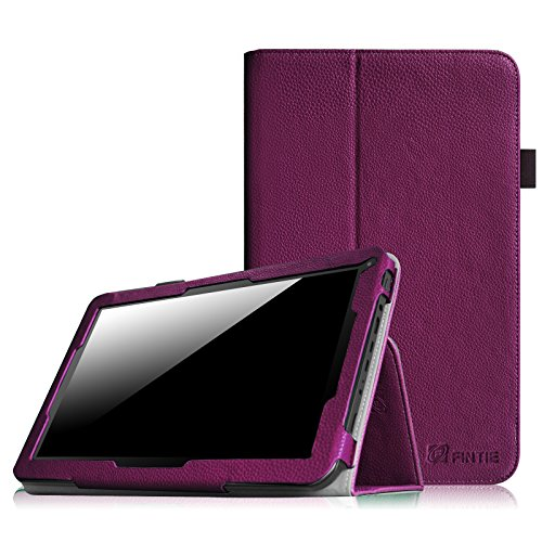 "Fintie Folio Hülle Case Schutzhülle Tasche für 10.1"" Android Tablet-PC Inklusive. iRULU eXpro X1s (10,1 Zoll), iRULU eXpro X1Plus, iRULU eXpro 1Plus, Alldaymall Tablet 10 Zoll A10, Arespark 10.1 Zoll, JYJ 10"" Zoll, AcePad SuperPad XT2 10"" Zoll, Tabexpress (10 Zoll), Polatab Elite Q10.1"", iStyle 2014 New 10.1"" Zoll, COMAG Android WIFI WTDR1018 (10,1 Zoll), NINETEC Platinum 10"" Zoll neues Model 2014 - Lila"