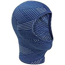 Odlo Face Mask Originals Warm Kids Cagoule Mixte Enfant, Clematis Blue-Grey Melange-AOP FW19, FR Unique (Taille Fabricant : -)