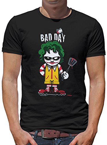 TLM Bad Day - Killer Food T-Shirt Herren M Schwarz