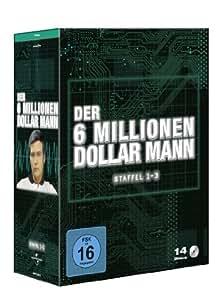 Der 6 Millionen Dollar Mann - Staffel 1-3 [14 DVDs]