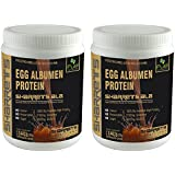[Sponsored]SHARRETS NON GMO EGG WHITE (ALBUMEN) PROTEIN - CHOCO. FLAVOR 2 X 0.441lb [ Sports Supplements , Energy Drink ]