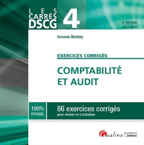 Carrés Exos DSCG 4 - Comptabilité et audit