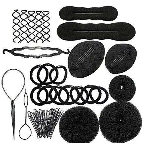lcnsw-haare-frisuren-setfrisurenhilfe-set-haar-styling-zubehr-pads-haarnadeln-clip-pads-haar-styling