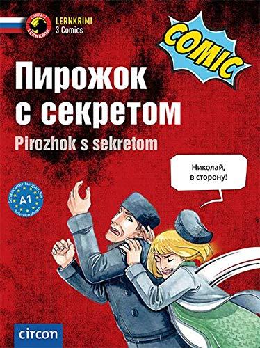 Pirozhok s sekretom: Russisch A1 (Compact Lernkrimi Comics)