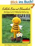 Fröhliche Biene mit Blumenkorb Amigur...