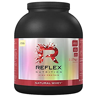 Reflex Nutrition 2.27kg Chocolate Natural Whey from Reflex