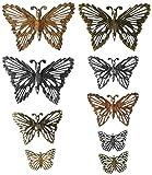 Unbekannt Prima Marketing Prima Marketing Mechanicals Metall Verzierungen von finnabai-Grungy Schmetterlinge, Andere, Mehrfarbig