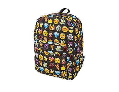 Imagen de samgu bolso de hombro del estilo del emoji  bolsa de viaje al aire libre color negro alternativa