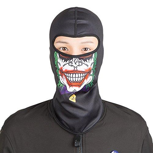 eclear motocicleta cuello máscara negro la mitad de la cara al aire libre conducción Riding Senderismo Viajar ciclismo casco de esquí capucha, 028E