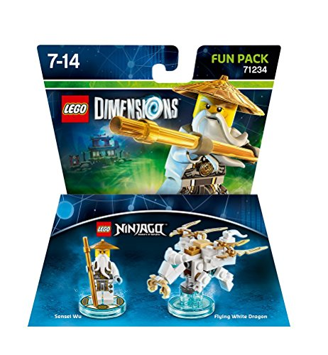 Lego Dimensions: Fun Pack Sensei Wu White Ninja