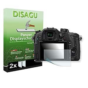 2 x DISAGU Film blindé film de protection d'écran pour Panasonic Lumix DMC-GH4 film de protection contre la casse