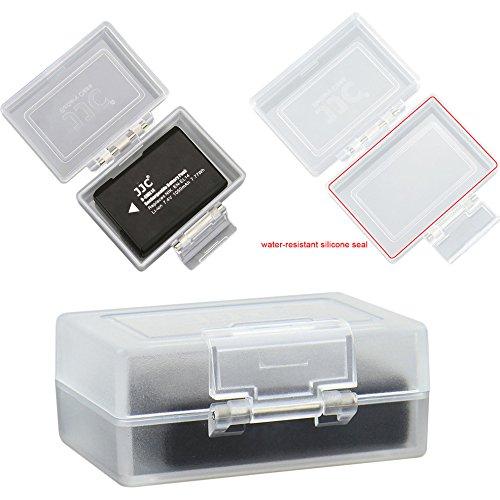 JJC BC-1 Batteriegehäuse Kamera Akku Schutzbox Camera Battery Case - Wasserdicht und Staubschutz Pentax-box