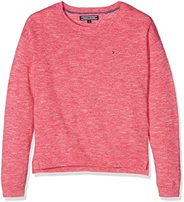 Tommy Hilfiger Ame Nayley Cn Sweater L/S, Suéter para Niños