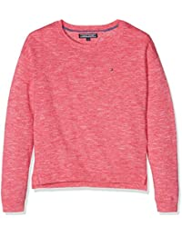Tommy Hilfiger Mädchen Pullover Ame Nayley Cn Sweater L/S