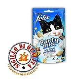 Felix Party Mix Dairy Delight Snacks per gatti 60gr Purina
