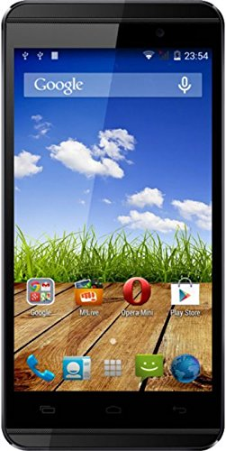 Micromax Canvas Fire 2 (A104) Black-Gold image