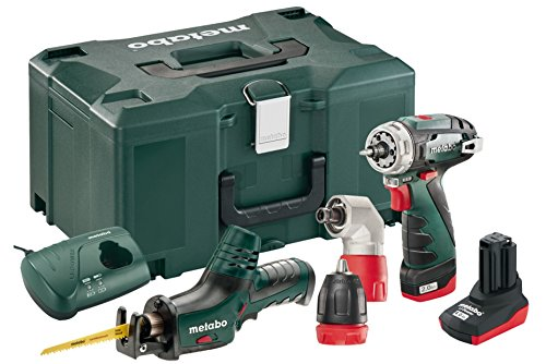 Metabo Comboset 2.2 10.8 V BS Quick 2.2 Combo Set Plus ASE 1 x 2.0 and 1 x 4.0 Ah Battery