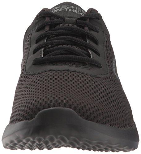 Skechers 55301 Dynamics Mesh Nero Scarpe Running Uomo total black