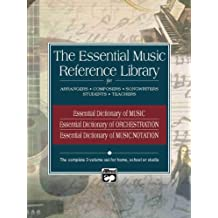 Essential Music Reference Library: Boxed Set, 3 Books Box Set (Essential Dictionary)