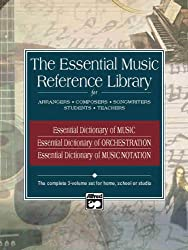 Essential Music Reference Library: Boxed Set (3 Books) (Essential Dictionary)