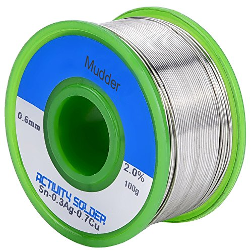 mudder-06mm-sn99-ag03-cu07-022lb-solder-wire-with-rosin-core-lead-free