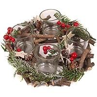 suchergebnis auf f r teelichter kerzen advent adventskranz k che haushalt wohnen. Black Bedroom Furniture Sets. Home Design Ideas