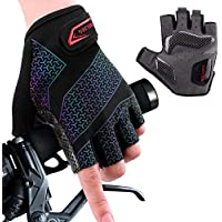 boildeg Cycling Gloves Bike Gloves Mountain Road Bike Gloves Gradient Anti-slip Shock-absorbing Pad Breathable Half…