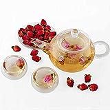 Schonheit Und Gesundheit Beste Deals - Aliciashouse 50g rote Rose Knospe Gesundheit Schönheit Raise Farbe chinesischer Blumentee