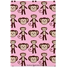 """Monkeys Blank Book Journal: 100 pages, 6 x 9"""", lined"""