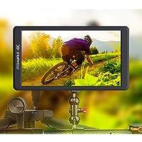 """Feelworld F570 Caméra Monitor 5.7"""" 4K HDMI Ultra HD 1920x1080 Champ Vidéo LCD IPS Screen 1400:1 Contraste élevé pour Steady Cam, DSLR Rig, Kit Caméscope, Stabilisateur de Poche"""