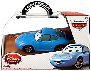 Disney / Pixar CARS Movie Exclusive 1:43 Die Cast Car Sally by Disney Store