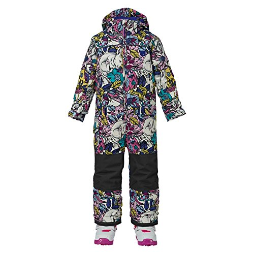 Burton Mädchen Minishred Illusion One Piece Snowboardoverall, Ikat Dot, 5\6