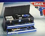 Werkzeugkoffer + Li-Ion-Akkuschrauber - WZK68-ABS-12Li - 68-teilig