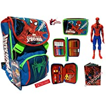 ZAINO ULTIMATE SPIDERMAN SCHOOLPACK SJ + ASTUCCIO