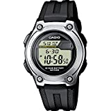 Casio Collection W-211-1AVES, Reloj Unisex, Negro