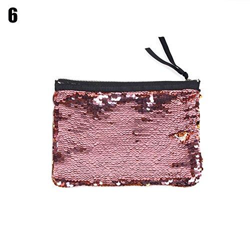 Pomineer , Damen Clutch mehrfarbig 5# 6#