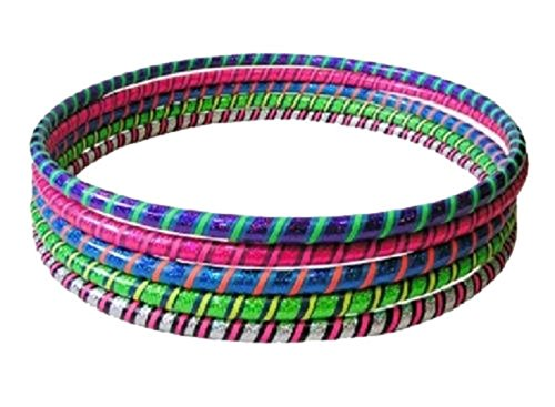 5 X Multicolour – Fitness Hula Hoops