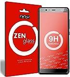 nandu I ZenGlass Flexible Glas-Folie für Nokia 5.1 Panzerfolie I Bildschirm-Schutzfolie 9H I (Kleiner Als Das Gewölbte Bildschirm)