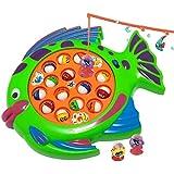 Juego infantil de PESCA (juguete con efectos de sonido) para estimular el desarrollo y crecimiento 366438 mws2204 (PEZ VERDE)