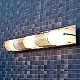 dreiflammige LED Energiespar-Spiegelleuchte 3×3 fürs Bad Badleuchte