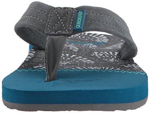 Quiksilver Herren Carver Suede Art Sandals Black/Blue/Grey