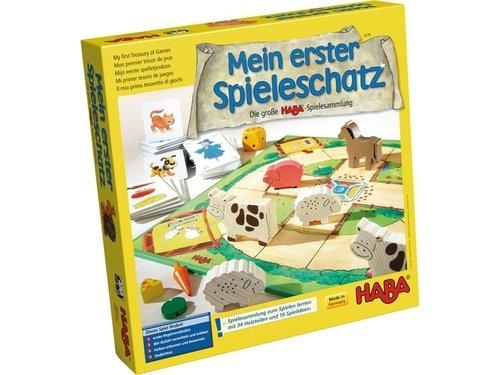 HABA-Mi Mi Primer Tesoro de Juegos (302243)