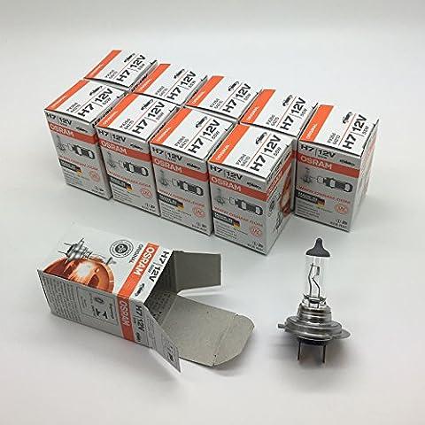 10x Osram H7477Halogen Auto Scheinwerfer Scheinwerfer Lampe 49912V 55W PX26d 64210