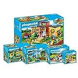 Playmobil City Life Set en 5 Parties 9275 9276 9277 9278 9279 l'animal hôtel papatte + Chatte Pension + Petit Anima lpension + Mobile Salon de toilettage + éducateur...