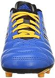 adidas Unisex-Kinder Goletto V FG Fußballschuhe, Blau (Shock Blue/Core Black/Solar Gold), 36 EU -