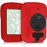 kwmobile Housse pour Garmin Edge 820 / Explore 820 - Housse de protection pour GPS vélo - coque pour compteur vélo rouge