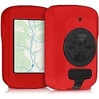 kwmobile Funda para Garmin Edge 820 / Explore 820 - Carcasa de [Silicona] para GPS - Cover para GPS de Bicicleta en [Rojo]