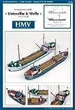 HMV 3326 Kartonmodell Küstenmotorschiffe Unterelbe & Welle