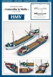 HMV - Hamburger Modellbaubogen Verlag HMV 3326 Kartonmodell Küstenmotorschiffe Unterelbe & Welle