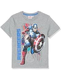 Avengers Assemble Garçon Tee-shirt - gris
